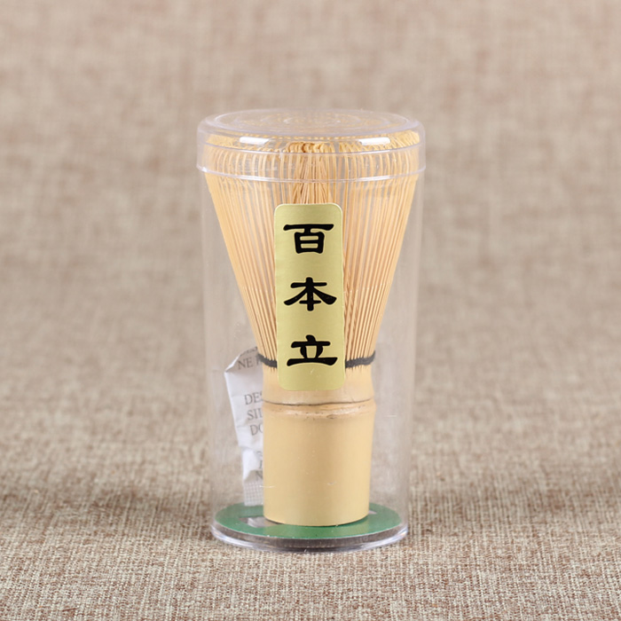 [GRANDNESS] 100 Pondate White Bamboo Chasen Matcha Whisk 100 Japanese Matcha Bamboo Whisk For Preparing Green Tea Matcha Chasen