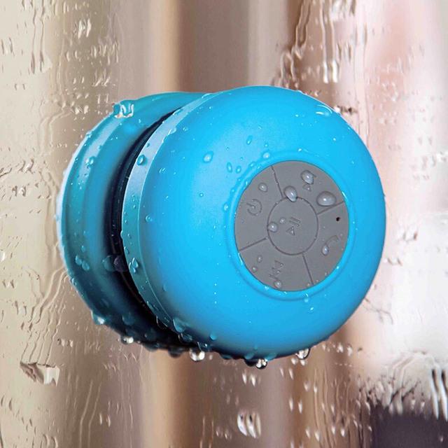 Portable Waterproof Bluetooth Speaker For Showers, Bathroom, Pool, Car, Beach