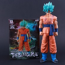 Banpresto Craneking MSP Master Stars Piece Dragon Ball Z Super Saiyan Son Gokou Son Goku PVC Action Figure Collectible Prototype