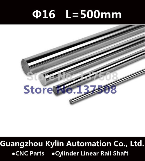 Best Sale! 2 pcs Diameter 16mm - L500mm Cylinder Linear Rail Shaft 16mm Linear Motion Shaft for CNC XYZ and 3D Printer 3d model relief for cnc in stl file format animals and birds 2