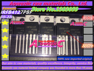 Image 1 - Aoweziic 2017+ 100% new imported original  IRFB4127PBF   IRFB4127  TO 220 field effect  MOS tube  N channel 200V 76A