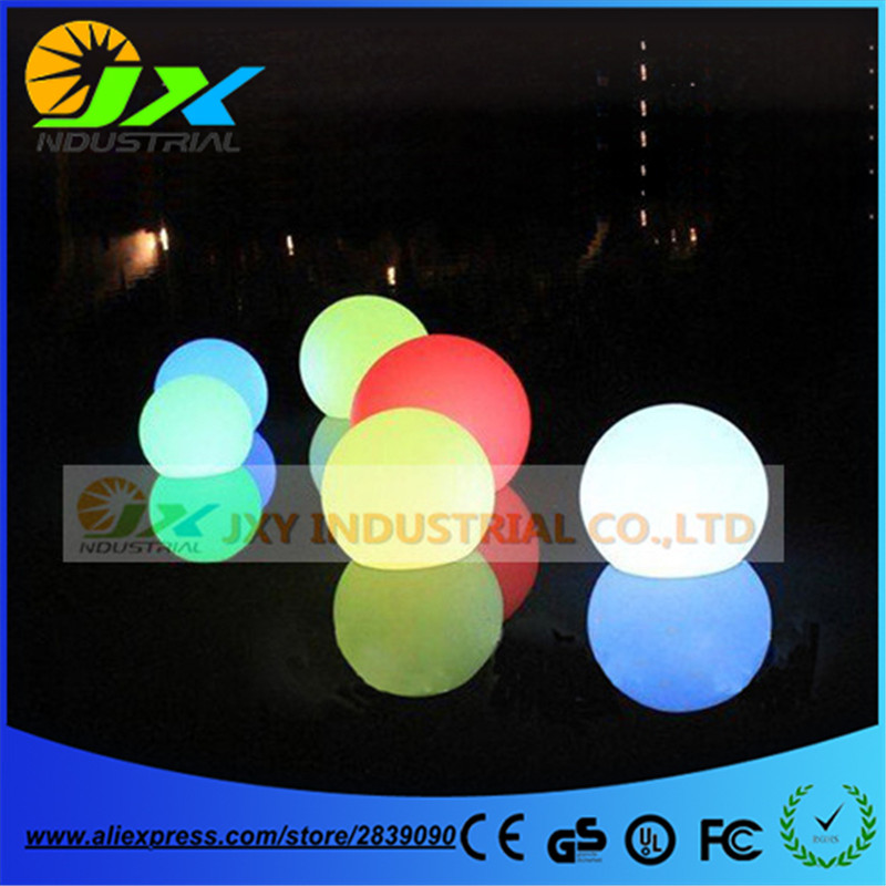 Free shipping factory Wholesale Diameter 50cm/40cm Led RGBW decoration lamps/ led garden ball light/led Floating pool ball lamp 6 5ft diameter inflatable beach ball helium balloon for advertisement