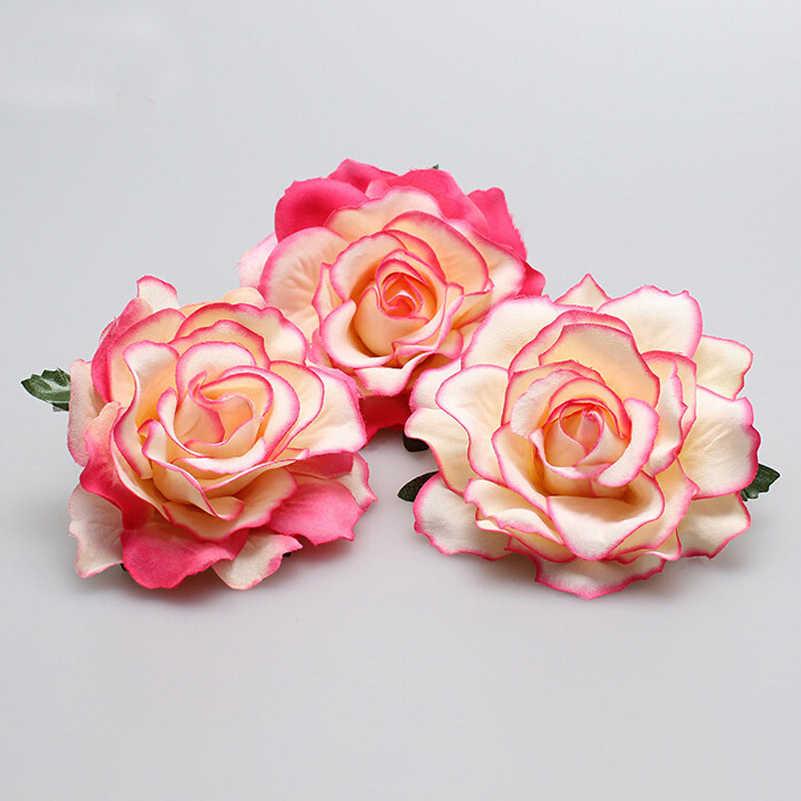 1 шт. Свадебные/Роза для подружки невесты цветок набор заколок для волос клипы Брошь Свадебная вечеринка Головные уборы вечерние для девочек праздничные аксессуары для волос