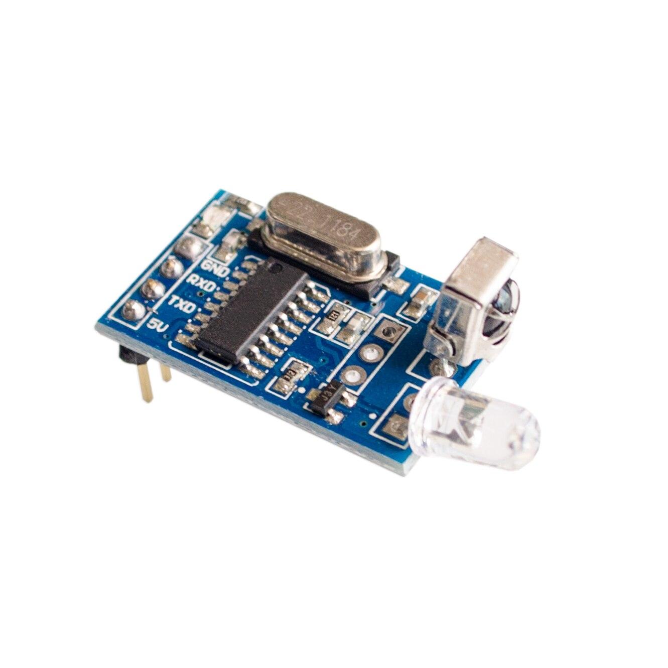 1set Infrared Remote Control Module Wireless Ir Receiver Diy Infra Red Controlled Motor Circuit Homemade 5v Decoder Encoding Transmitterreceiver