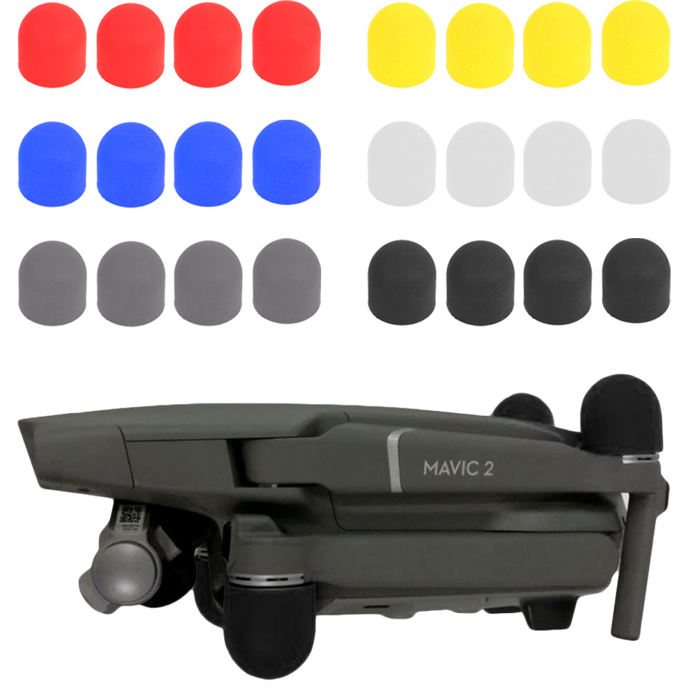 4PCS Drone Motor Cover Case Silicone Dustproof Plug Cover Protector For DJI Mavic 2 20J Drop Shipping