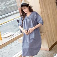 Summer Pregnant Woman Maternity Dresses Bottoming Tops Spring Long Section Cozy Pregnant Woman Maternity Clothing Clothes