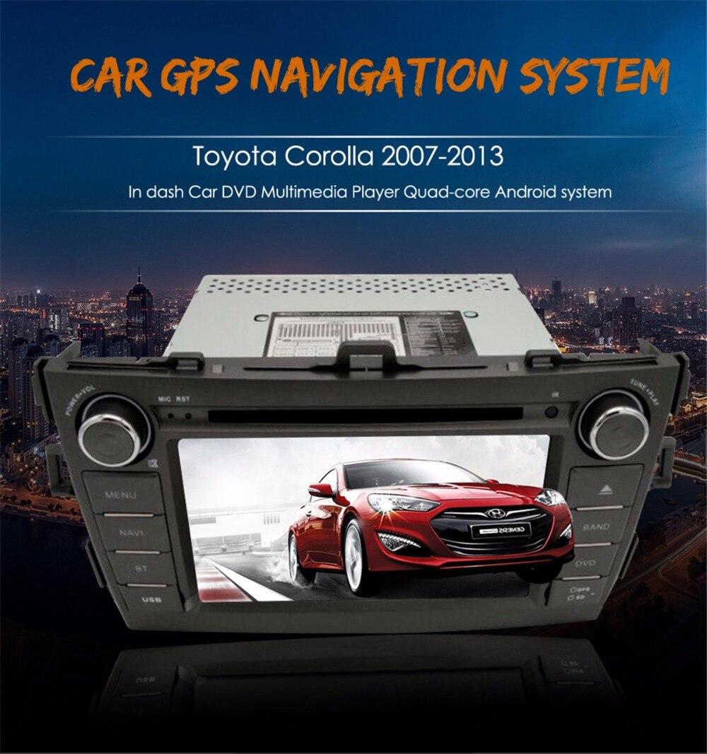 8 Inch Android System Car DVD Car GPS Navigation Headunit font b Multimedia b font GPS