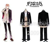 DIABOLIK LOVERS Sakamaki Shu Uniform Shirt Jacket Coat Pants Anime Halloween Cosplay Costume For Men Custom Made