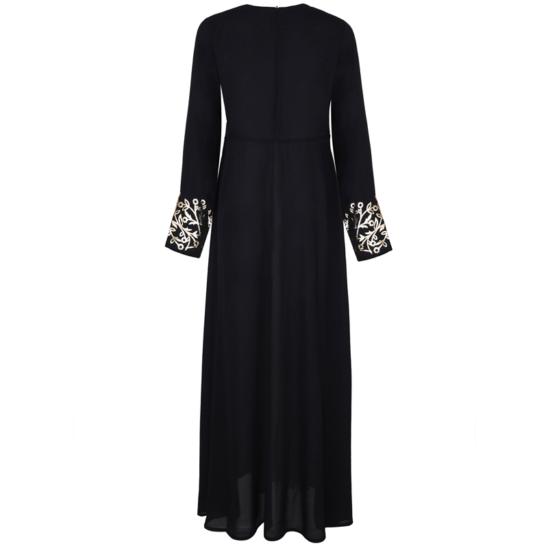 MISSJOY Dubai kaftan Dress Muslim Party Abaya Women Arabic Lace Cardigain Patchwork turkey Islam Prayer caftan marocain dresses 5