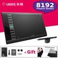 M708 8192 Níveis UGEE Gráfico Desenho Tablet Digital Tablet Pad Assinatura Pintura Desenho Da Caneta Para Escrever Pro Designer Wacom