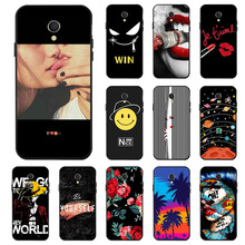 Ojeleye Fashion Black Silicon Case For Meizu MX6 Cases Anti-knock Phone Cover For Meizu MX6 M681Q Covers цена