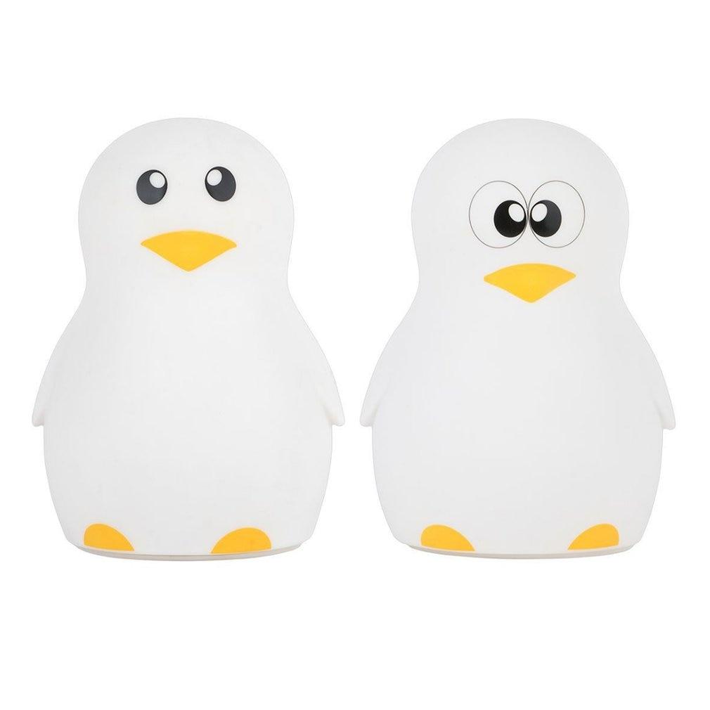 Cute Penguin Night Light Adjustable Colorful LED Desktop Light Silicone USB Charging Lam ...