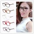 Novos óculos de Leitura quadros senhora do escritório elegante literária de estudantes do sexo feminino listrado retro óculos moldura Decorativa Nenhum grau