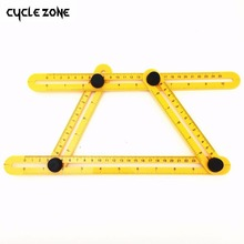 Measuring Instrument angle izer Template Tool Four sided Ruler Mechanism Slides For Builders Handymen Craftsmen Engineers