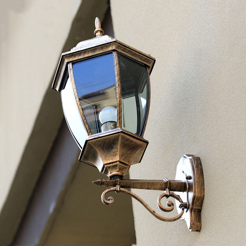 Outdoor Wall lamps fashion aluminum courtyard light waterproof garden corridor street balcony lighting fixtures WKS-OWL34