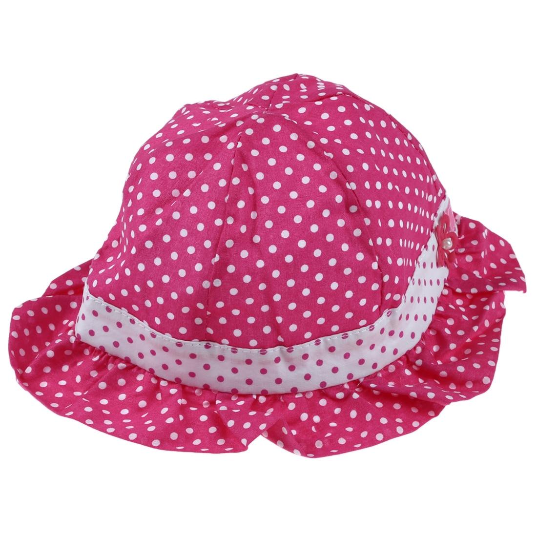 New Sweet Cute Baby children so Polka Summer Caps