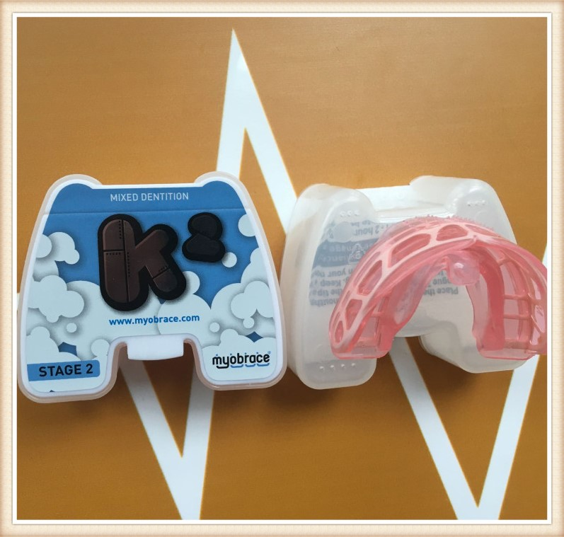 Teeth Trainer appliance K2 Blue Myobrace Teeth Trainer K2 Dental Orthodontic teeth trainer K2 Blue Large