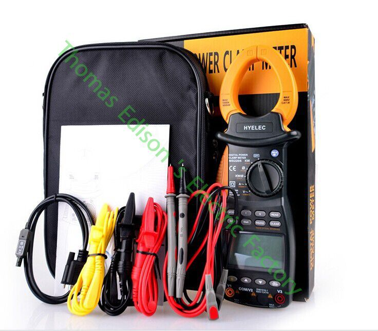 High quality Sinometer MS2205 3 phase Power Clamp Meter harmonic tester цены