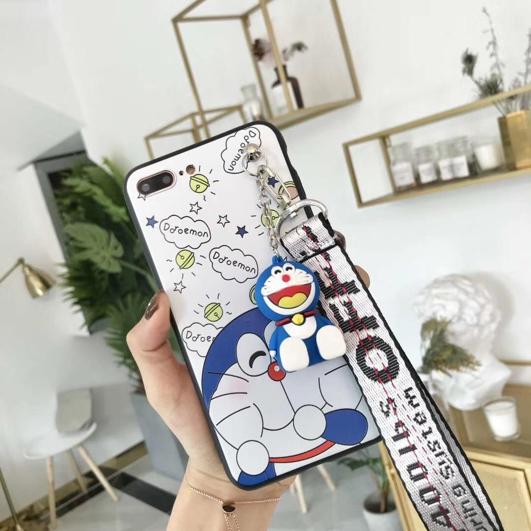 For VIVO V9 V5 V7 V7 Plus Cute 3D Cartoon Doraemon Soft Phone Case For Vivo Y85 Y71 Y66 Y67 Y71 Y75 Y79 X7 X9 X9S X20 Plus X21