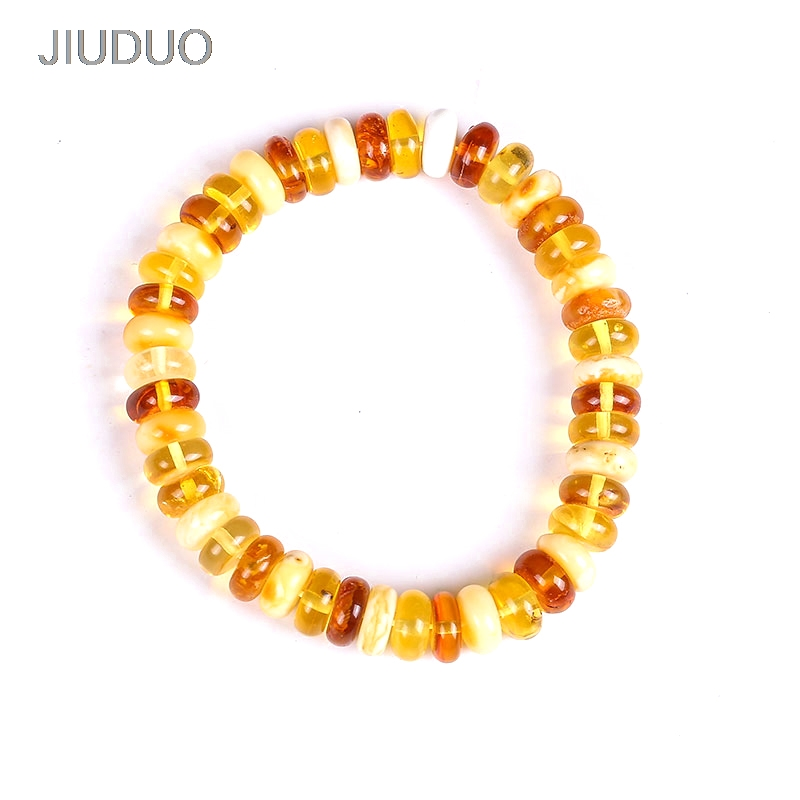 Bracelet ambre parfum de sang perles soupe trésor femmes authentique avec certificats exquis bijoux ambre naturel