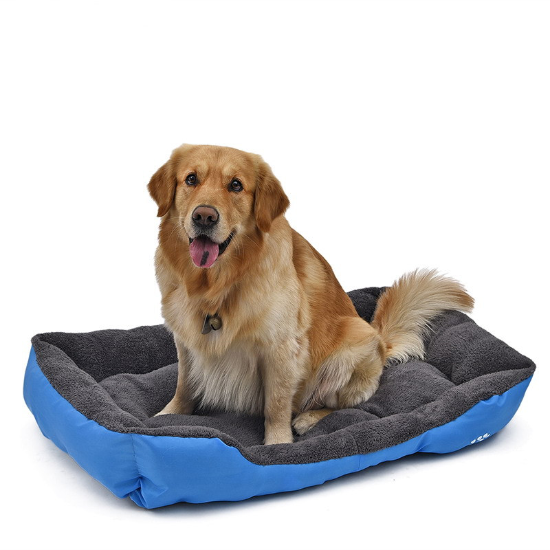 Ortilerri Soft Cloth Fabric Dog House Sofa Pet Bed Pet Dog Cat Kennel Furniture Dogs Indoor