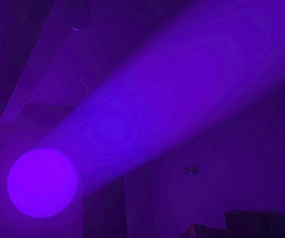 LED DJ הזזת ראש 10