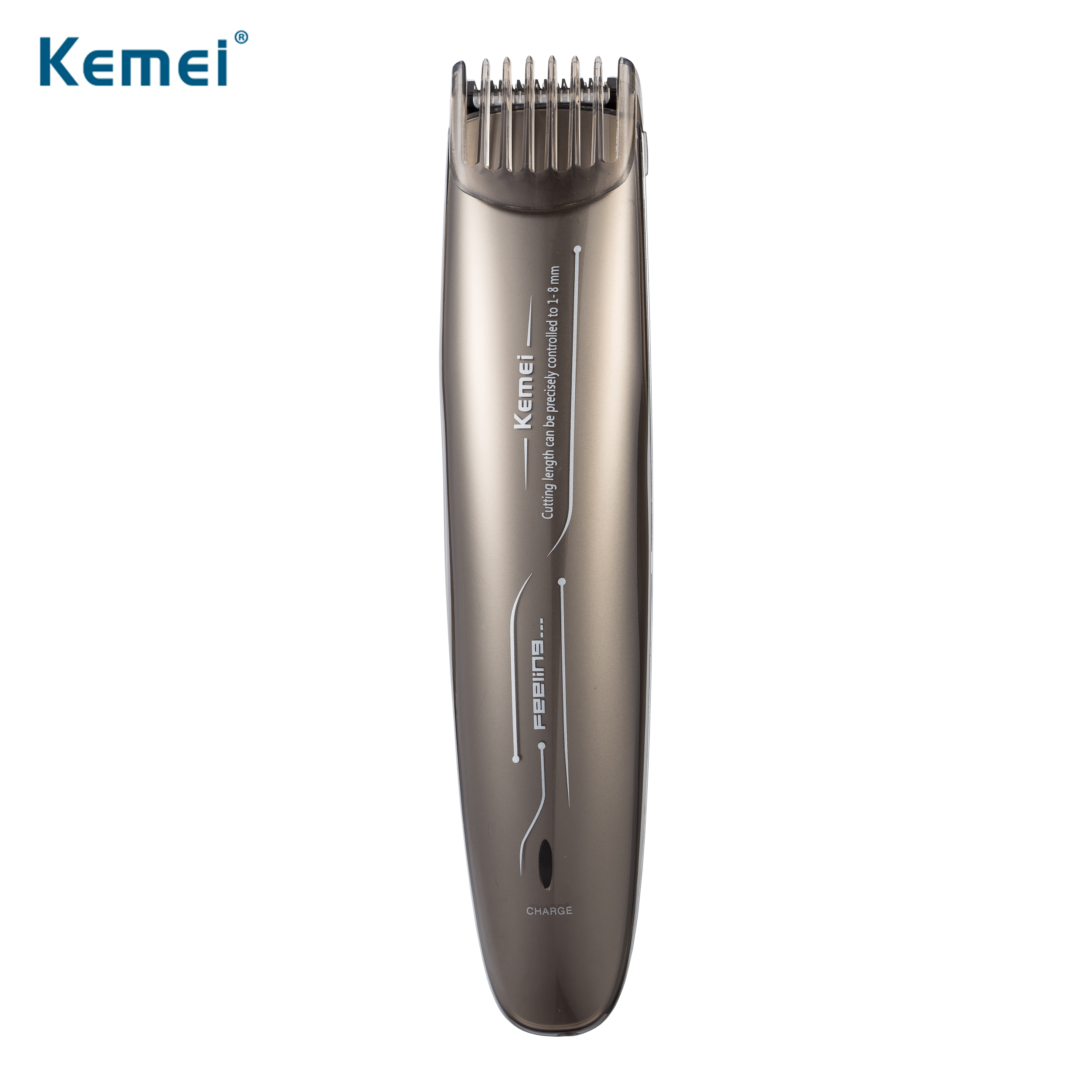 kemei clipper rechargeable hair trimmer hair cutting beard trimmer electric razor hair shaving machine electric shaver for man kemei rechargeable electric children s hair trimmer razor shaving for child hair cutting 9801 professional shaving machine