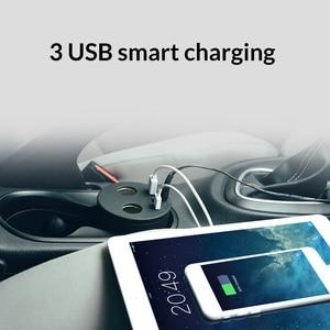 Image 3 - ORICO araba şarjı 3 USB DC/5V 7.2A kupası güç soket adaptörü çakmak Splitter cep telefonu şarj cihazları için tablet ve daha fazlası
