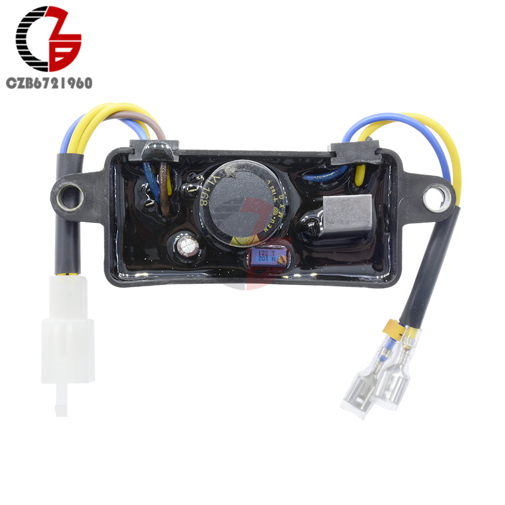 Lihua Automatic Voltage Regulator For Generator Spare Parts With Protection Circuit Free Electronic Rectifier Single Phase Avr 2kw 3kw Chinese Gasoline