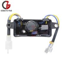Автоматический регулятор напряжения Выпрямитель однофазный генератор AVR запасные части для 2 кВт-3 кВт китайский бензиновый генератор