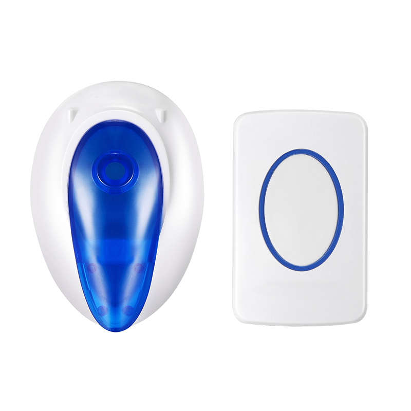 Wireless 300M Remote Control Door Bell 36 Tune EU Plug Home Gate Security Wireless Doorbell Cordless Smart Door Bells Doorbells door bell with 36 chimes single receiver waterproof plug in type wireless doorbell cordless smart door bells doorbells