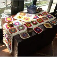 Кружевная скатерть ручной работы «сделай сам» коврик для стола