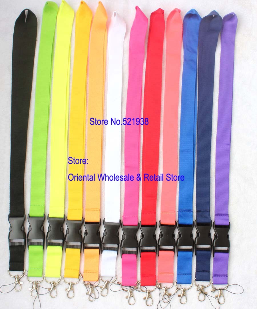 Free Shipping Wholesale Multicolor Key Lanyard For CAR Sport LOGO Badge ID Holders Mobile Phone Neck