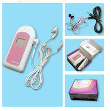 2016 Hot Sales COTEC BABYSOUND B -LCD Display Prenatal Fetal Doppler, Baby Heart Beat Monitor+ Free Gel