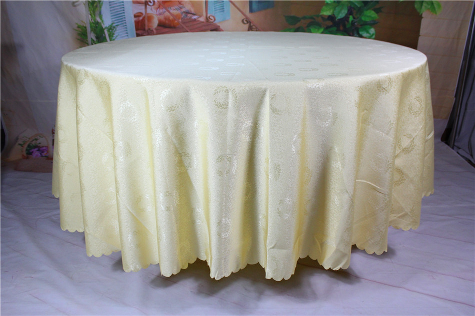 Champagne Badge Jacquard Tablecloth/Table Cover For Wedding Party Hotel  Banquet Home Decorations(Chair