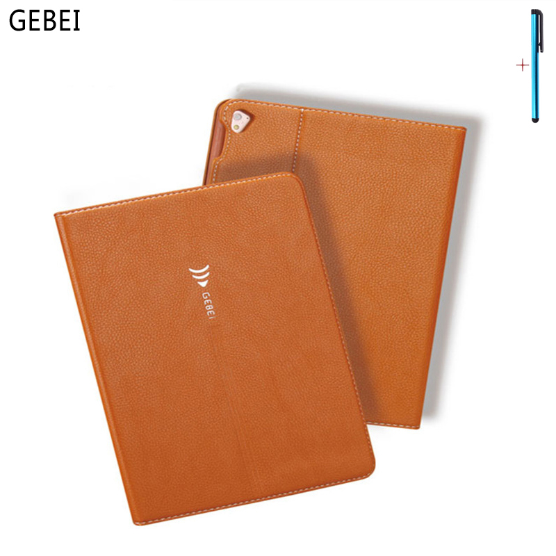 где купить Case For iPad Pro 9.7 Tablet Cover Smart Sleep Ultra Thin Flip Stand Silicon PU Leather Case For iPad Pro 9.7 Protective Shell дешево