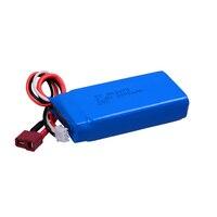 חלקי חילוף WLtoys 12428 סוללה משודרג 7.4V2000mAh T Plug סוללה עבור L969/L202/L212/L222 WL RC לרכב סוללה אבזר