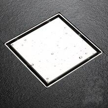 Высококачественная нержавеющая сталь 150x150 мм квадратный анти-для вытяжки и сливного отверстия слив в ванной- M0334