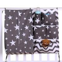 Newborn Cot Crib Bedding Set Baby Cot Sets Baby Bed Storage Pockets Diaper Bag Bed Crib Organizer Baby Hanging Storage Bag