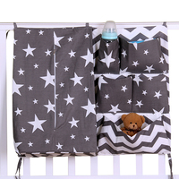 Newborn Cot Crib Bedding Set Baby Cot Sets Baby Bed Storage Pockets Diaper Bag Bed Crib Organizer Baby Hanging Storage Bag