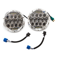 7 inch led headlight Projector Lens 75W High Low beam Daytime running lights for Jeep Wrangler Hummer Off road 4x4 Lada Niva