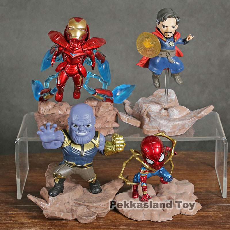 Aliexpress.com : Buy Marvel Avengers Mini Egg Attack Series Iron Man MK 50 / Thanos / Iron