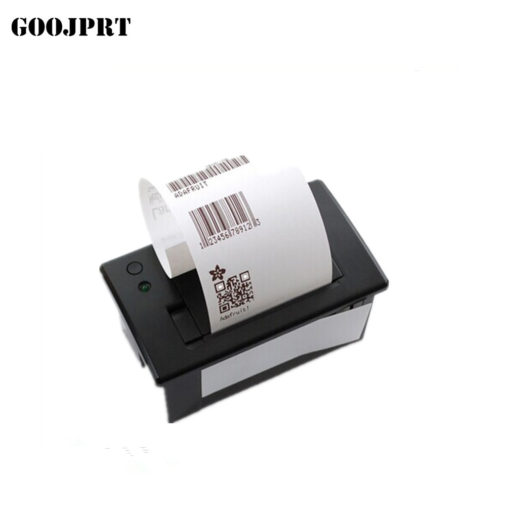 Free shipping 58mm mini thermal printer RS232/TTL panel printer bluetooth printer