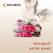 SOARIN Electric Blanket Plush Electric Heating Blanket 220v Heated Mattress 180*200 Body Warmer Carpets Heated Electric Mattress(China)