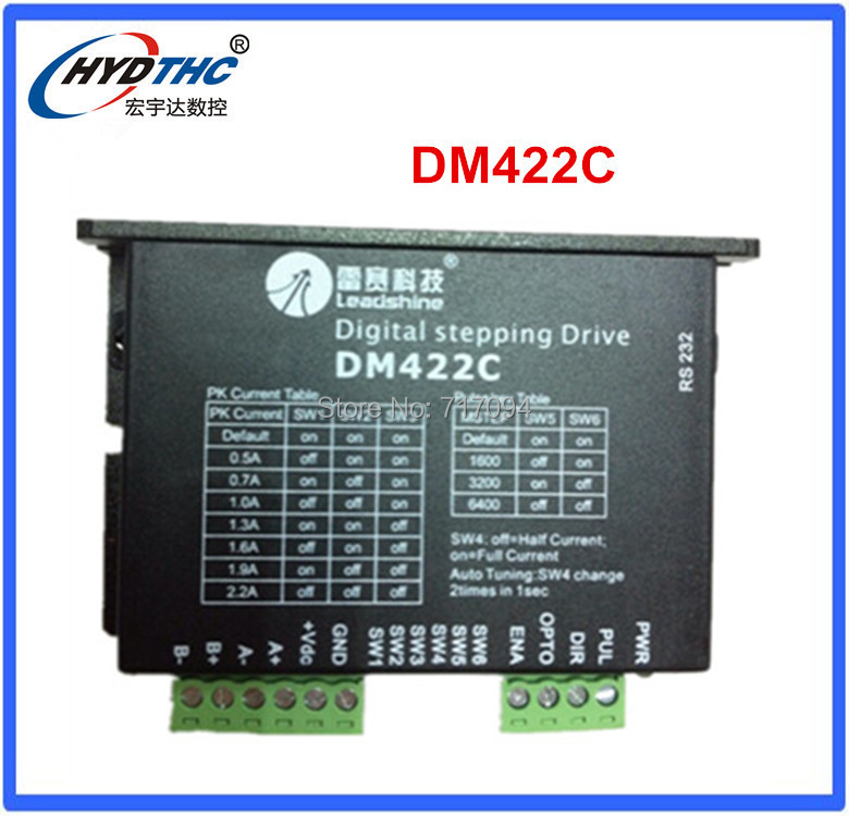 цена на Best price for leadshine stepper driver New Leadshine DM422C CNC Digital Stepper Motor Driver 2.2A 40V #SM017 @SD