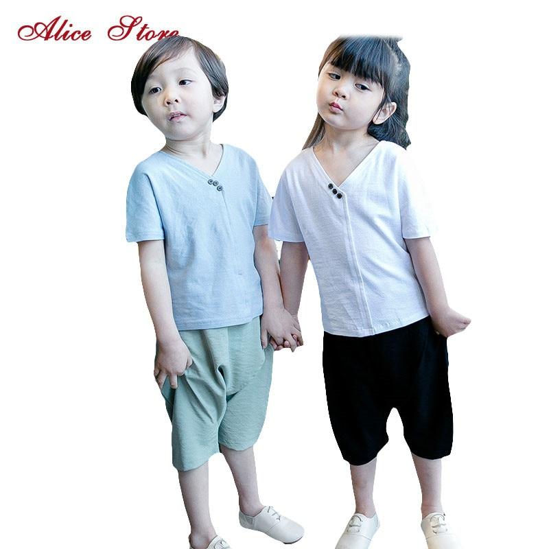 2015 Spring New Baby Boy Long Sleeve t-shirt + pants suit boy Kids Clothing Set free shipping