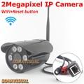 Cámara ip wifi 1080 p full hd 2mp visión nocturna inalámbrica de 2 megapíxeles ir onvif/p2p motion detectar 1920x1080 sistema de seguridad