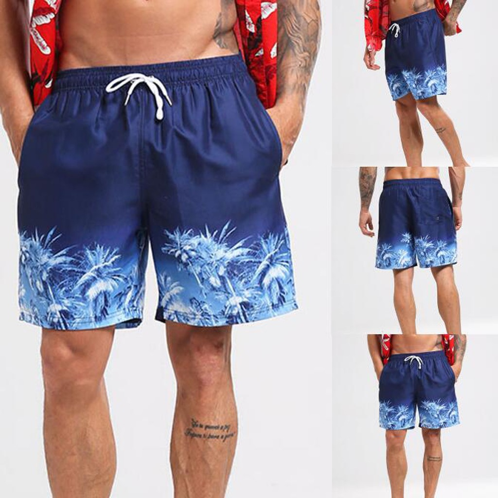 Womail Men's Shorts Swim Drawstring Trunks Quick Dry Beach Surfing Running Swimming Casual Deporte Dropship J24