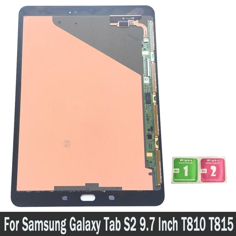 Display LCD Para Samsung Galaxy Tab S2 9.7 ''T810 T815 T819 T817 LCD Substituição Do Painel de Tela de Toque Digitador Assembléia parte