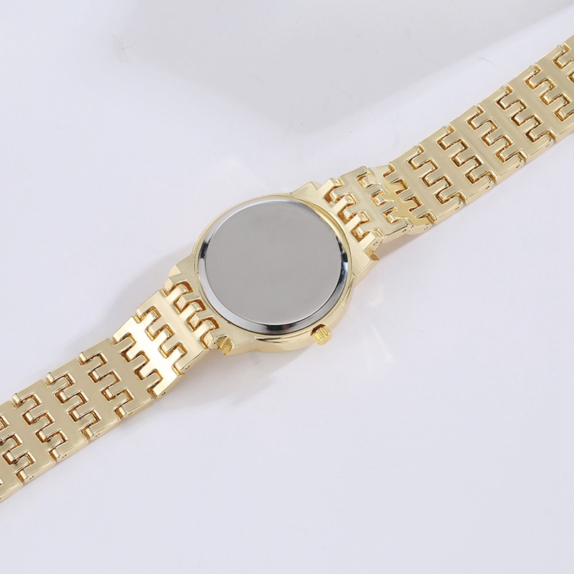 Deepshell Brand Gold Women Bracelet Watches Ladies Crystal Quartz Watch Women Wristwatches Relogio Masculino Dropship #N01